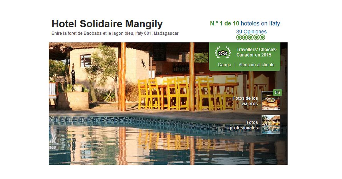 Hotel Solidaire. Posicionamiento.